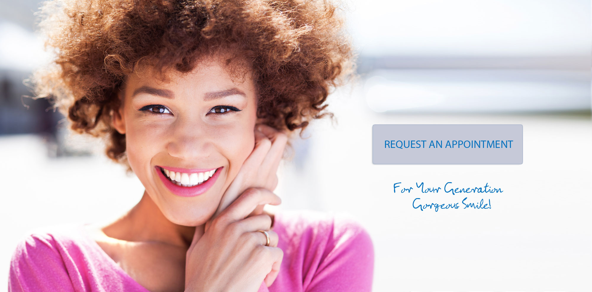 Women Smiling - Request an Appointment